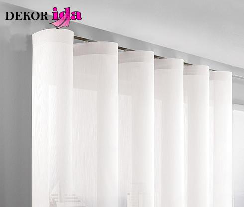 nabrane ali klasicne zavese - tende classiche dekor ida